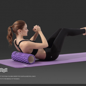 con lan massage tap Yoga Foam Roller
