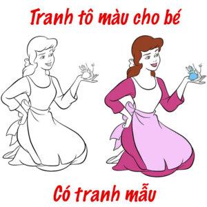 Tranh To Mau Cho Be Co Tranh Mau Da To Mau